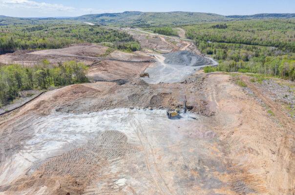 Drilling & Blasting Weaver Mountain